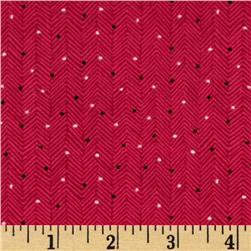 Folk Song Dotted Blender Red