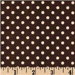 CV-866 Premier Prints Dottie Chocolate/Natural