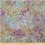 0293038 Artisan Batiks Gazebo Abstract Leaves Iris