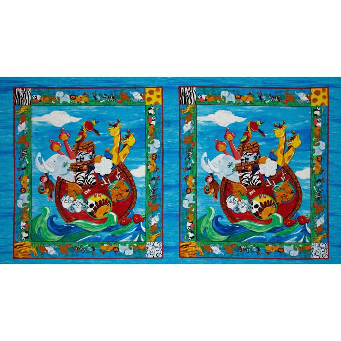 Noah's Ark Panel Animals Multi