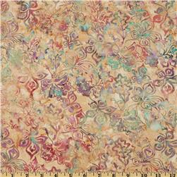 Bali Batiks Stylized Floral September