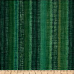 Fusions Ombre Collection Stripe Forest Green