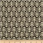 Communique Damask Brown/Ivory