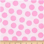 0300461 Michael Miller Cute Zoo Adorable Dots Pink