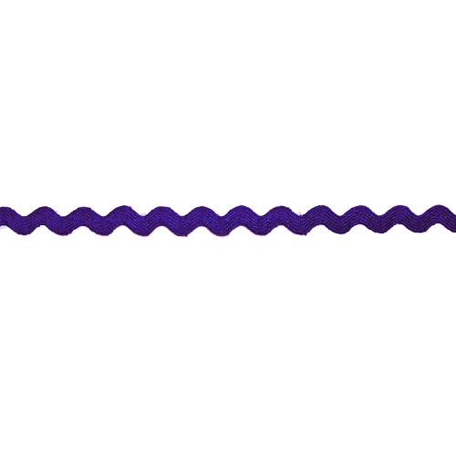 "1/4"" Nylon Ricrac Royal Blue"