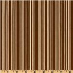 Indian Summer Stripes Brown
