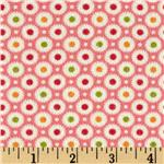 Moda Marmalade Flannel Dot Candy Pink