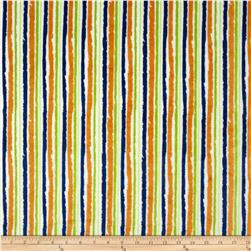 Minky Jagged Stripe Multi