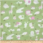 0277807 Baby Talk Animal Alphabet Green