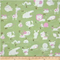Baby Talk Animal Alphabet Green