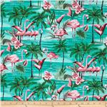 0303930 Hoffman Tropical Collection Flamingo Aqua