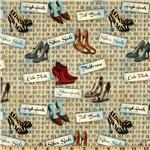Sassy Shoes Shoes & Words Multi
