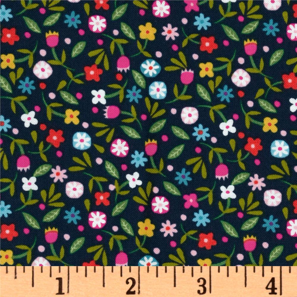 Soul Garden Ditsy Floral Navy