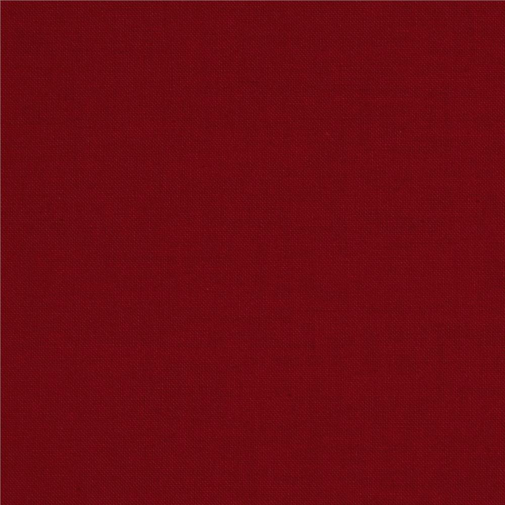 Stella Cotton Solid Red