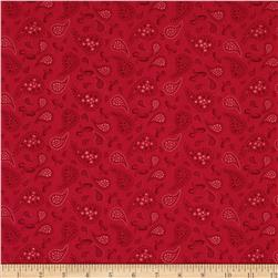 Tweet For Two Bandana Paisley Red