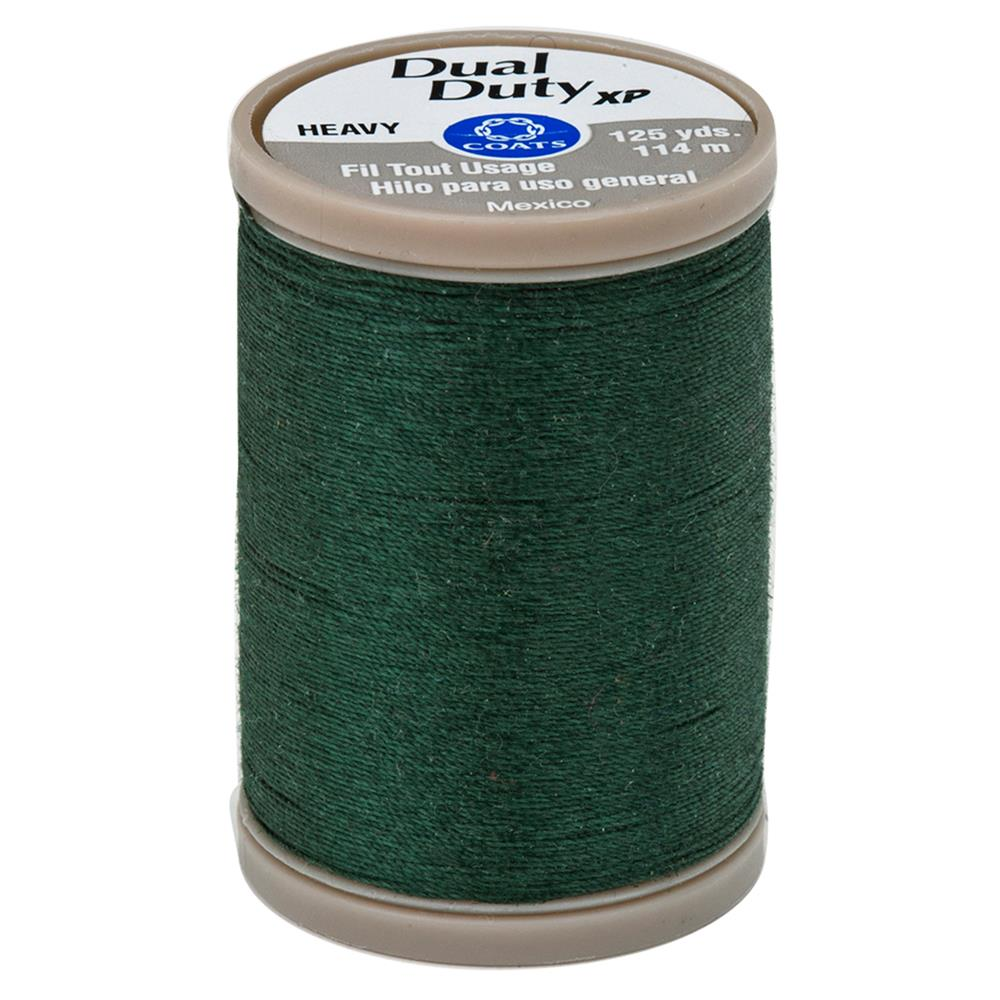 Coats & Clark Dual Duty XP Heavy 125yds Forest Green