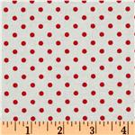 FC-731 Crazy for Dots &amp; Stripes Dottie White/Red