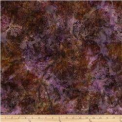 Artisan Batiks Natural Formations Medallions Boysenberry