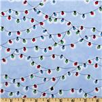 FJ-235 Christmas Time Peanuts Lights Blue