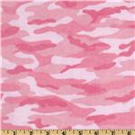 Comfy Flannel Camo Pink