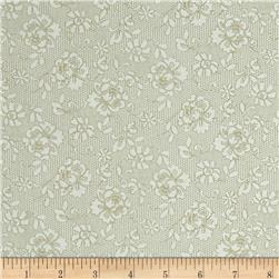 Tone on Tone Large Floral White