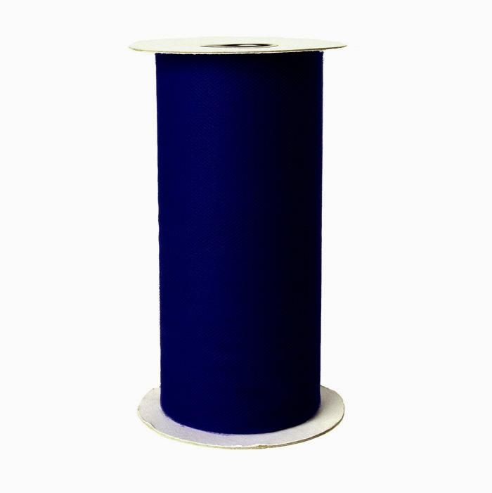 Tulle Spool Navy