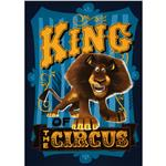 FT-812 Madagascar King of the Circus Panel Navy