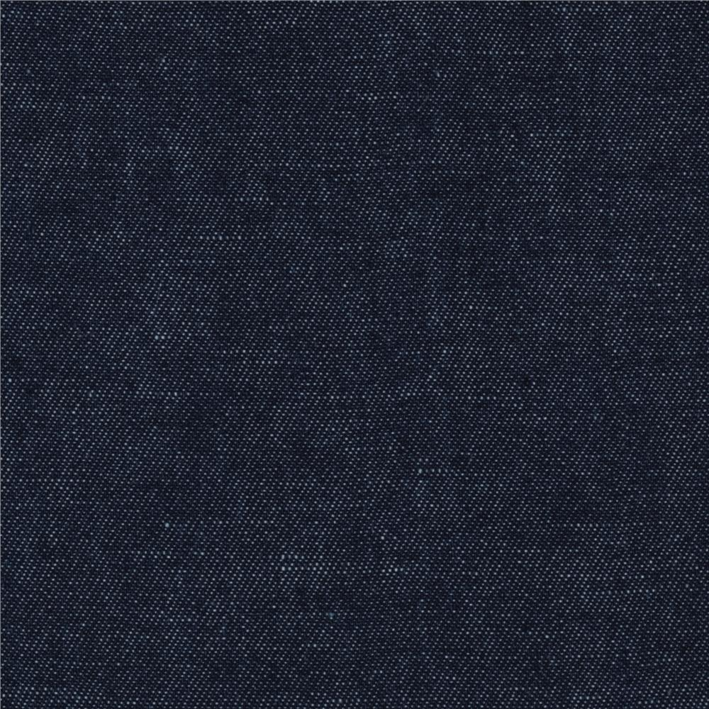Kaufman Cotton/Linen Denim Blue