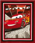 Cars Slipstream Wallhanging Panel Red