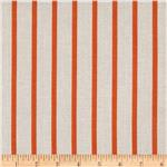 0270422 Michael Miller Textured Basics Stripe Papaya