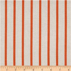 Michael Miller Textured Basics Stripe Papaya