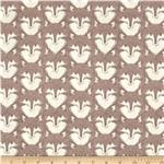 0272162 Timber & Leaf Fox Portrait Brown
