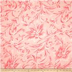 108&#39;&#39; Wide Quilt Backing Love &amp; Liberty Floral Pink