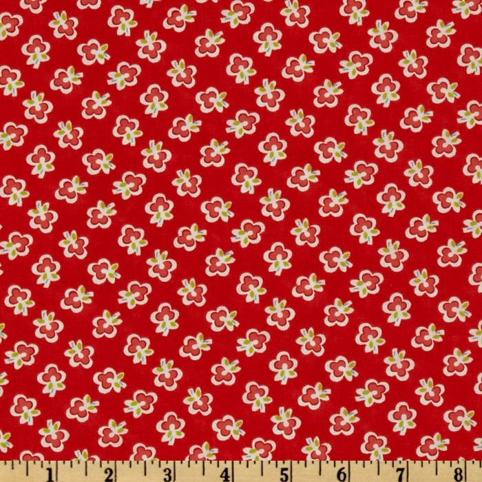 Moda Vintage Modern Blossoms Candy Apple
