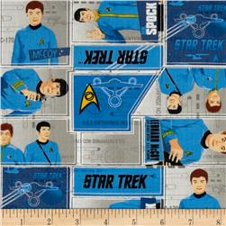 Star Trek Uniforms Blue