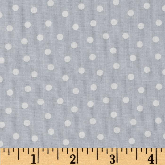 Gray Matters Polka Dot Grey