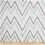 Suburban Home Embroidered Levi Chevron Mineral