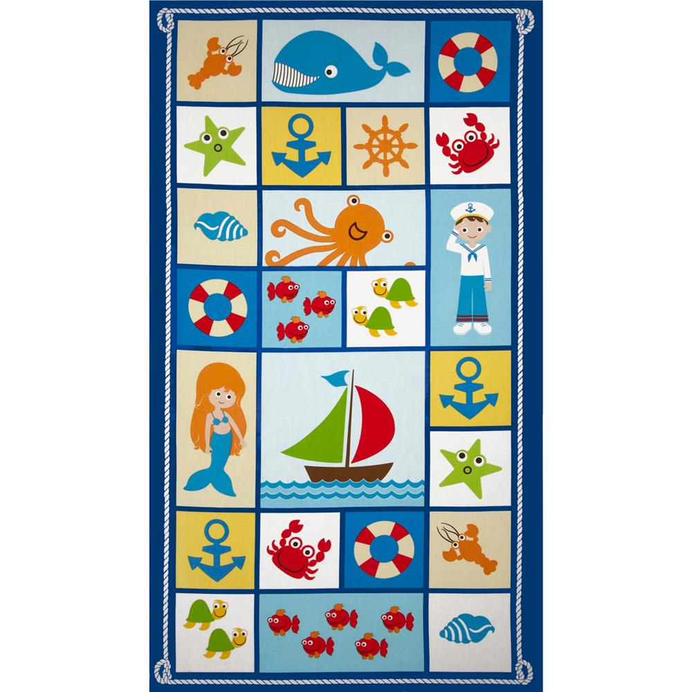Seaside Holidays Panel White