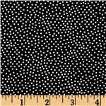 Michael Miller Garden Pin Dot Black