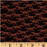 237931 Wild Horses Silhoutte Horse Black/Brown