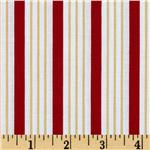 Song Bird Stripe Red