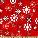 Jingle Snowflakes Red