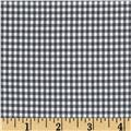 Designer Yarn Dyed Suiting Gingham Blue/White
