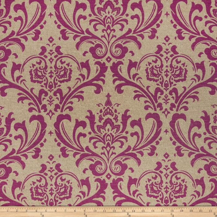 Premier Prints Traditions Mystical Fuschia/Denton