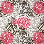 0293140 Premier Prints Indoor/Outdoor Blooms Preppy Pink