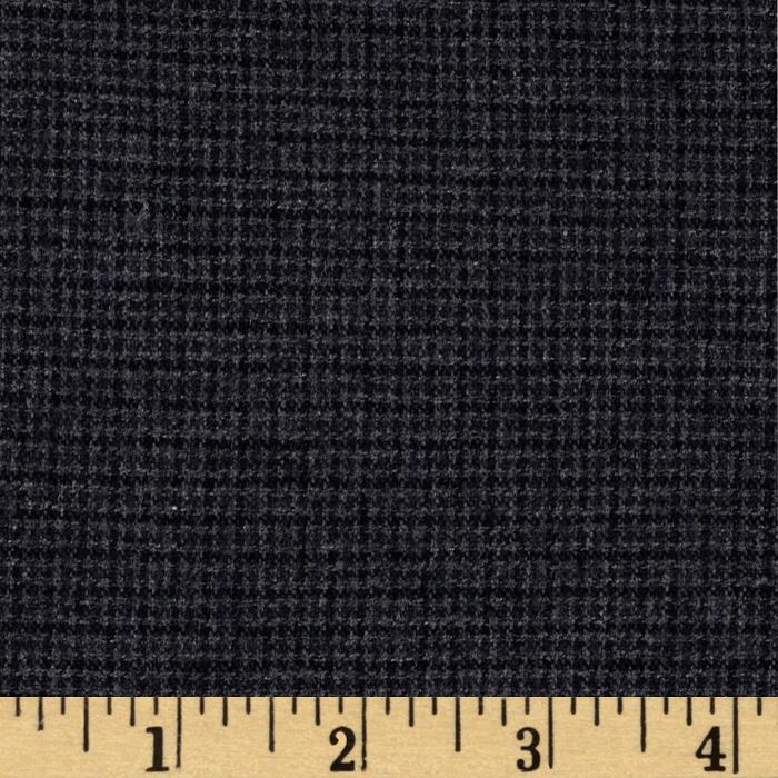 Designer Brushed Wool Suiting Slate
