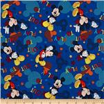 0307741 Disney Mickey Mouse Out to Play Tossed Mickey Blue