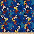 Disney Mickey Mouse Out to Play Tossed Mickey Blue
