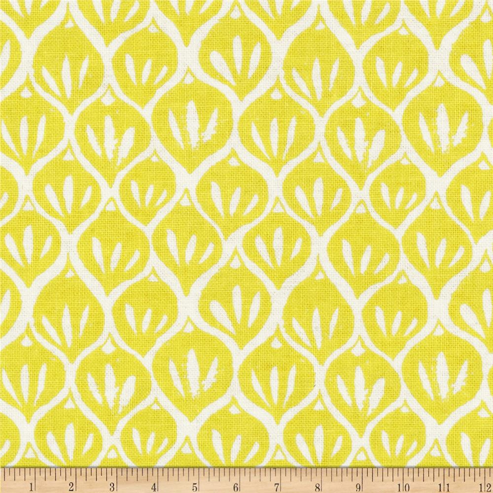 Timber & Leaf Pine Stickers Yellow
