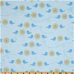 FT-855 Forest Friends Birds Blue